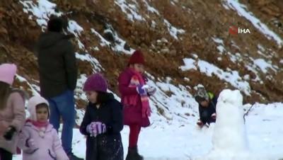 mangal keyfi -  Kar gören Muğlalılar Yılanlı dağına akın etti