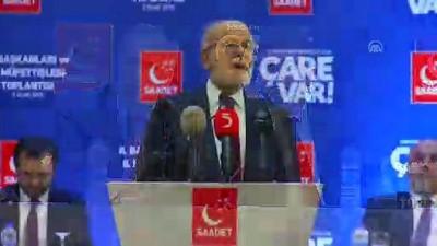 Saadet Partisi adaylarını açıkladı - ANKARA