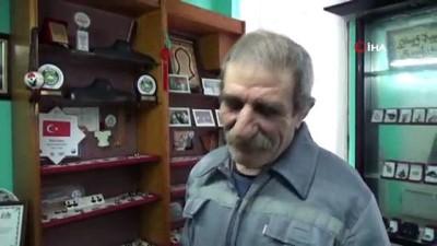 Devlet sanatçısının 'boynuzdan' yaptığı takılar göz kamaştırıyor