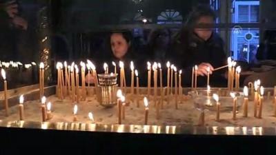 hac cikarma - Hz. İsa'nın doğuş ve vaftiz ediliş günü - Fener Rum Patrikhanesi'nde ayin - İSTANBUL