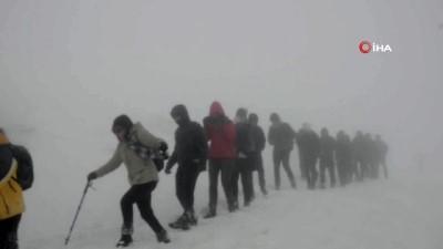 sehit -  Karacadağ'da Sarıkamış Şehitleri İçin Yürüdüler