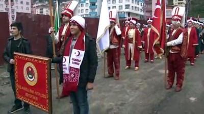 - Sarıkamış Şehitleri Rize'de dev bayraklı yürüyüş ile anıldı