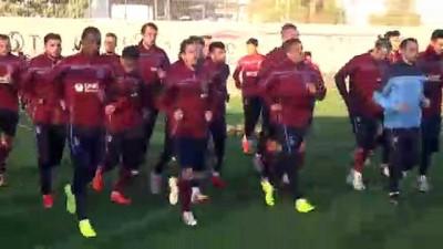 argo - Trabzonspor'da ikinci yarı hazırlıkları - ANTALYA