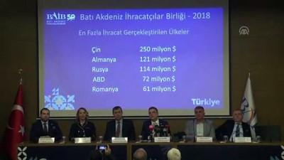 ihracat rakamlari - Batı Akdeniz için 2019 ihracat hedefi 2 milyar dolar - ANTALYA