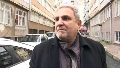Ehliyetsiz sürücünün kullandığı araç apartmana çarptı - İSTANBUL