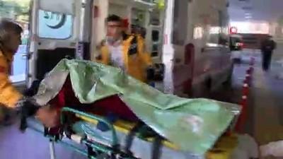 isci servisi -  Öğrenci sevisi ile işçi servisi çarpıştı: Ölü ve yaralılar var