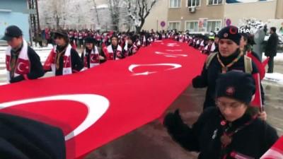 sehit -  Sarıkamış Şehitleri için Kars'tan Eskişehir'e geldi