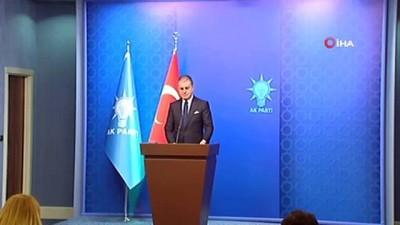 """AK Parti Sözcüsü Çelik: """"Futbol ile kavga eden bir siyasi parti"""""""