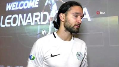 devre arasi - Atiker Konyaspor'a Makedon sol bek