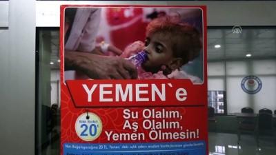 hayirseverler - Batman'da Yemen için kampanya