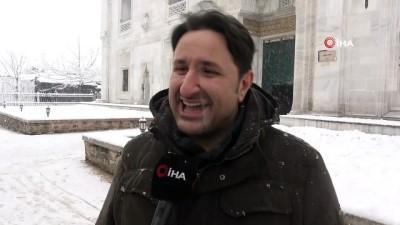 - Bursa'da kar sonrası kartpostallık görüntüler oluştu