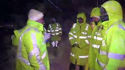 Erzincan-Gümüşhane kara yolu ulaşıma kapandı - ERZİNCAN