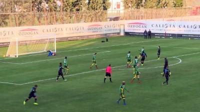 devre arasi - Futbol: Hazırlık maçı - Trabzonspor: 3 - ADO Den Haag: 1 - ANTALYA