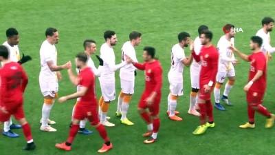 Galatasaray, hazırlık maçında Eskişehir ile 3-3 berabere kaldı