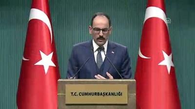 mel b - Kalın: '(PYD/YPG'ye verilen silahlar) Terör unsurlarının elinden alınarak nötralize edilmesi bizim temel beklentimizdir'- ANKARA