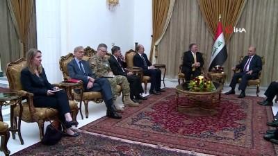- ABD Dışişleri Bakanı Pompeo, Irak Cumhurbaşkanı Salih İle Görüştü