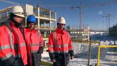 Bakan Kurum, Yargıtay binası inşaatını inceledi - ANKARA