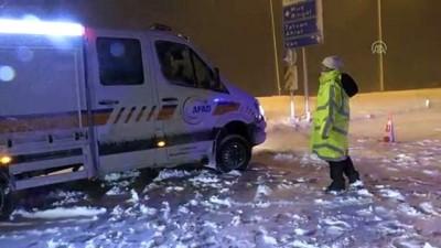 Bitlis-Tatvan kara yolu ulaşıma açıldı