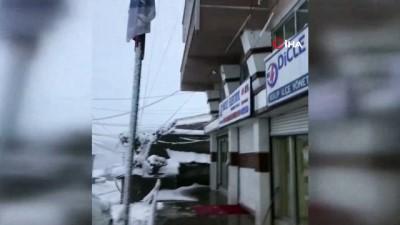 salda -  Dicle Elektrik ekipleri kış mesaisinde