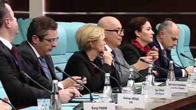 konferans - Kamuda Blokzincir Konferansı - Bakan Pekcan'ın sektörün paydaşlarıyla katıldığı toplantı - ANKARA