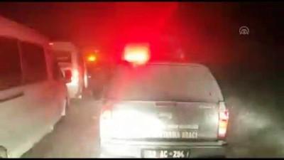 cenaze araci - Karda mahsur kalan vatandaşlar için ekipler seferber oldu - ELAZIĞ