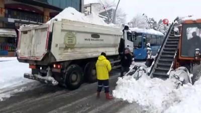 Muş'ta 305 köy yolu kar nedeniyle ulaşıma kapandı