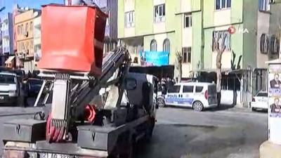 Patlayan trafo bomba korkusuna neden oldu