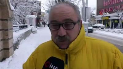 kar manzaralari -  Tokat'ta kar yağışı sonrası kartpostallık görüntüler oluştu