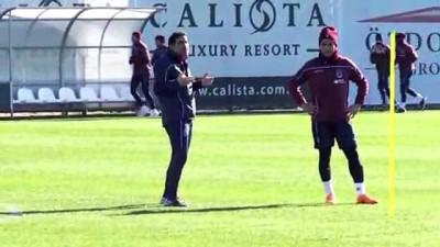 hazirlik maci - Trabzonspor'da ikinci yarı hazırlıkları - ANTALYA