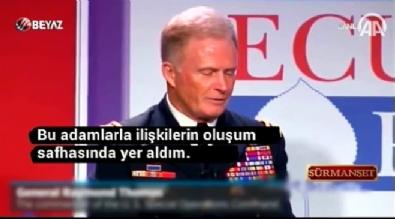 ABD'li komutandan PKK itirafı