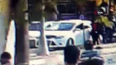 silahli catisma -  Anadolu Adalet Sarayı önünde silahlı çatışma anları kamerada