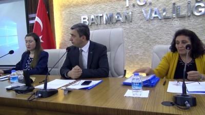 Batman'da il koordinasyon toplantısı yapıldı