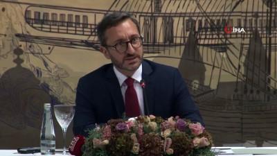 medya kuruluslari -  İletişim Başkanı Prof. Dr. Fahrettin Altun, medya yöneticileri ile bir araya geldi