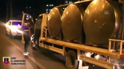 Kaçak sigara ve telefonları süt tankerinde saklamış - SİİRT