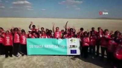 TEMA'dan Seyfe Gölü 'çölleşmesin' çağrısı