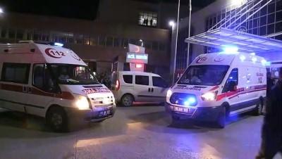 silahli catisma - Hastane önünde silahlı çatışma: 1 ölü 3 ağır yaralı