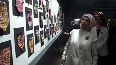 Emine Erdoğan, Olgunlaşma Enstitüleri Kurumsal Dönüşüm Toplantısı ve Sergi açılışına katıldı