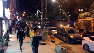 opel -  Yüksekova'dan Irak sınırına askeri sevkiyat