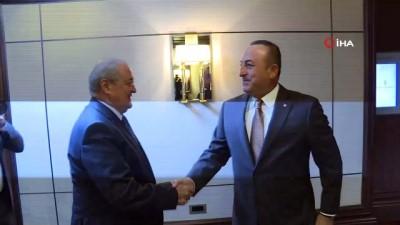 - Bakan Çavuşoğlu, Özbekistan Dışişleri Bakanı Kamilov ile görüştü