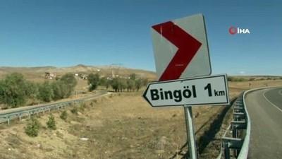 Bingöl köyüne adını veren göl kurudu