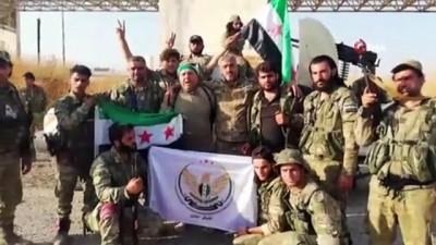 - Suriye Milli Ordusu Tel Abyad'ı Suriyeli mültecilere armağan etti