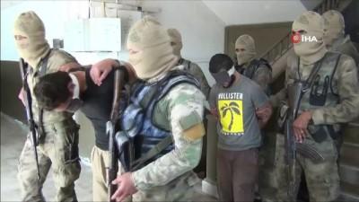 - Azez'i kana bulayan PYD'li teröristler yakalandı