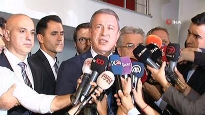 Hulusi Akar'dan, CHP ziyareti sonrası açıklama
