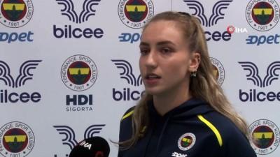 """ihlas -  Melis Yılmaz: """"Fenerbahçe'de oynuyorsanız hedefiniz her zaman şampiyonluk"""""""