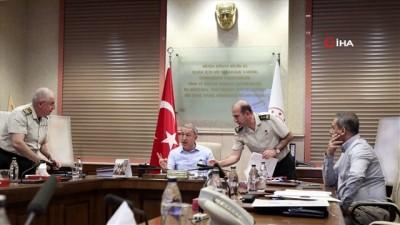 konferans -  Milli Savunma Bakanlığı'nın yoğun mesaisi devam ediyor