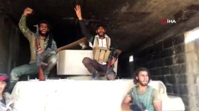 - SMO, YPG'nin bıraktığı silahları tek tek ele geçiriyor - Rus yapımı bir tank ile çok sayıda sandıkta saklanan roketler ele geçirildi