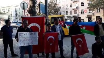 gine -  - Gürcistanlı öğrencilerden  'Barış Pınarı Harekatı' destek