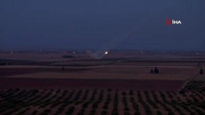 Rasulayn'daki terör hedefleri Çok Namlulu Roketatarlar ile vuruluyor