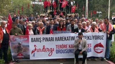 futbol maci -  Sındırgı'dan Barış Pınarı Harekatı'na destek