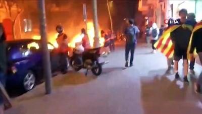 - Katalonya'da protestolar devam ediyor: 3 gözaltı İzle
